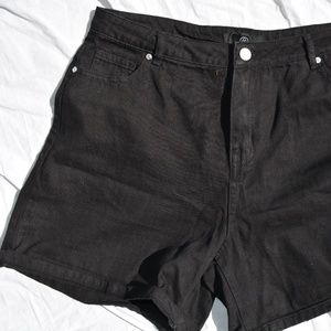 Black Shorts - Tall - MISGUIDED